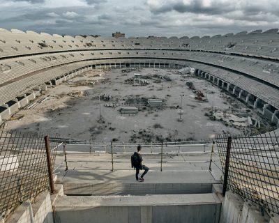 Estadio Nuevo Mestalla – 02 – Póster A3