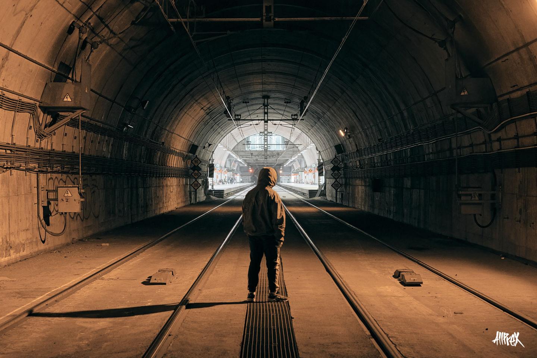 tunel de metro madrid