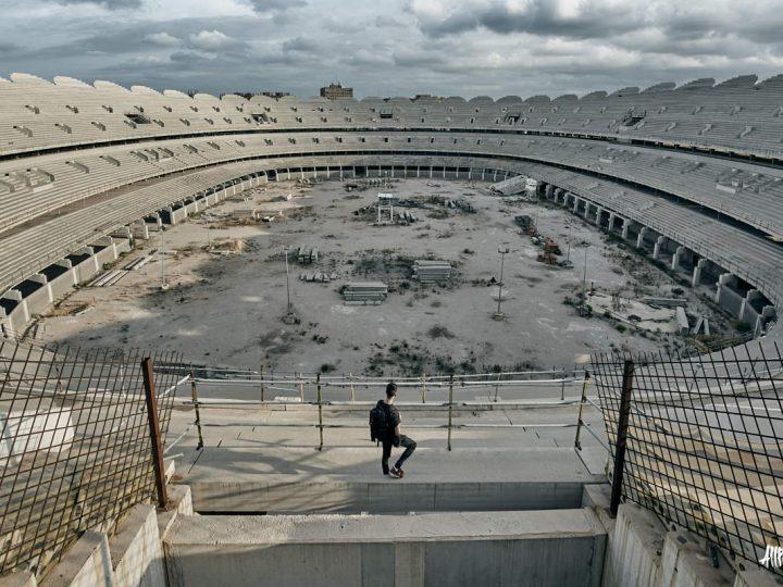 Así está actualmente el estadio Nuevo Mestalla