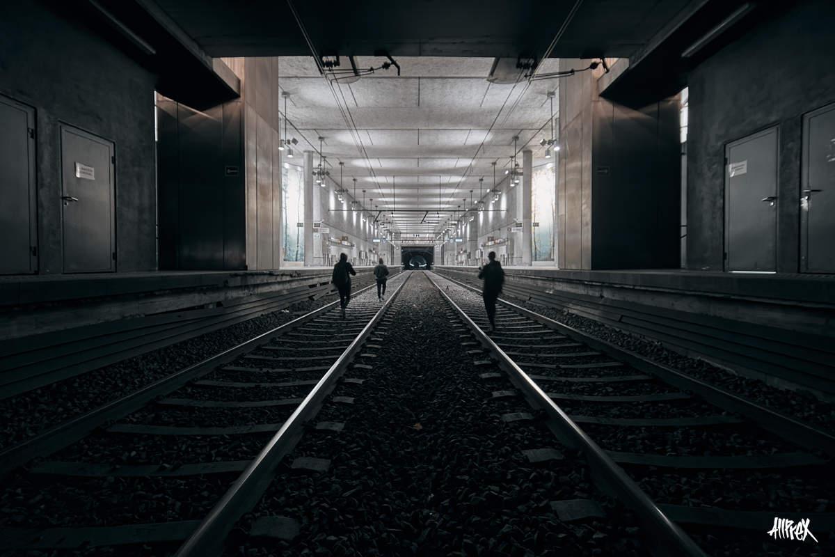 urbex en tuneles de bilbao
