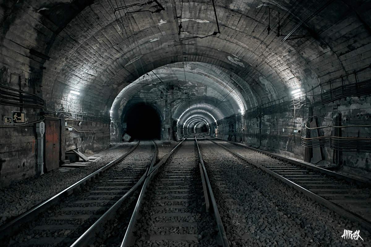 tunel de metro bilbao