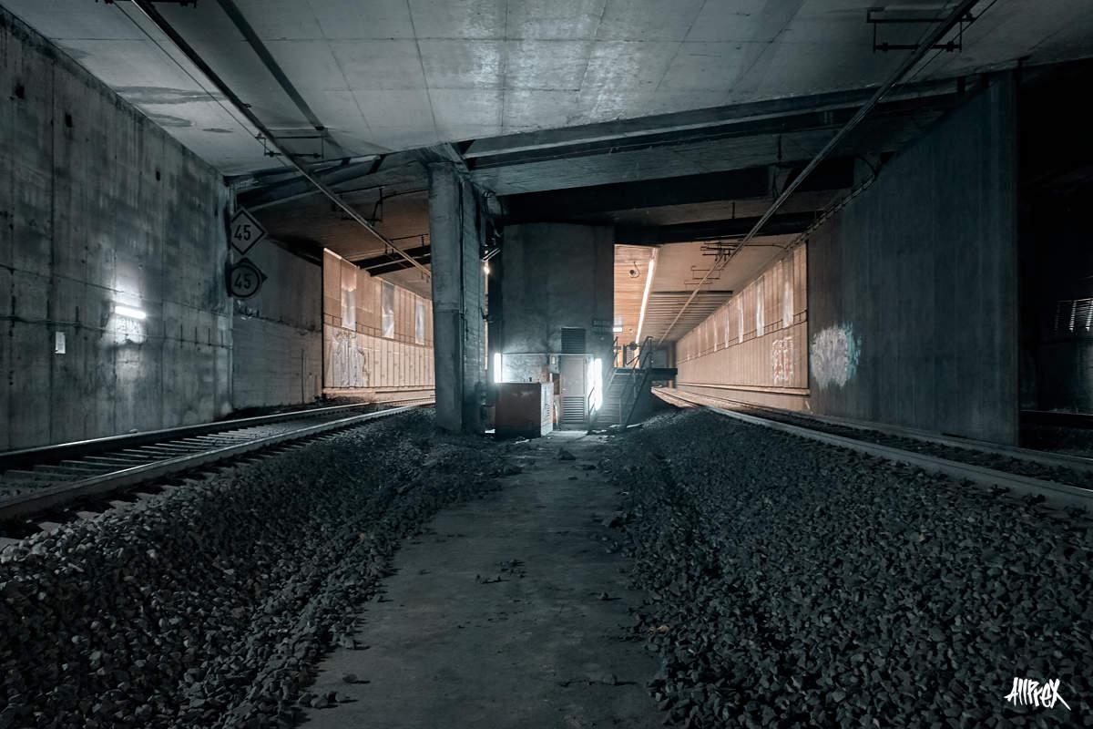 exploración de túnel en bilbao