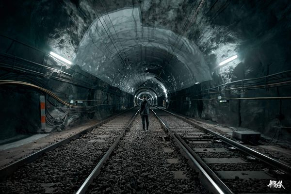 tunel de renfe en bilbao