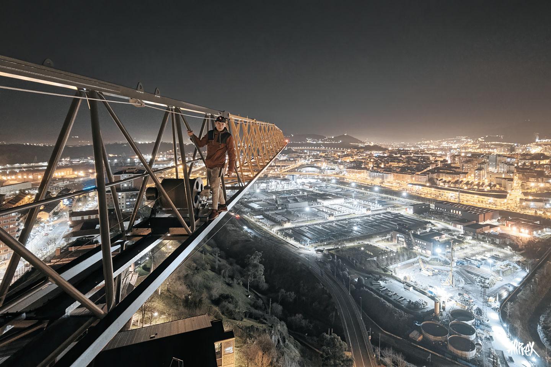 rooftopping bilbao españa