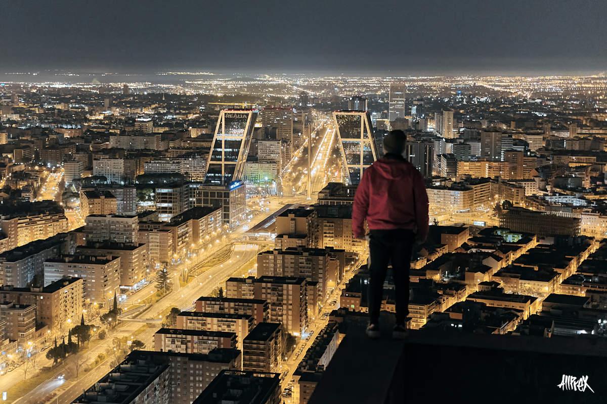 rooftopping en quinta torre de madrid