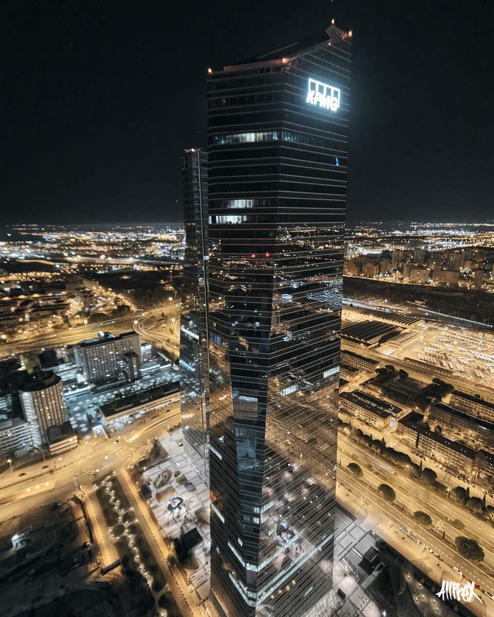 cuatro torres madrid torre kpmg