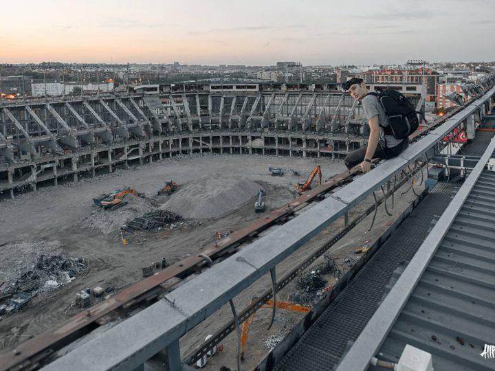 Las últimas fotografías del estadio Vicente Calderón