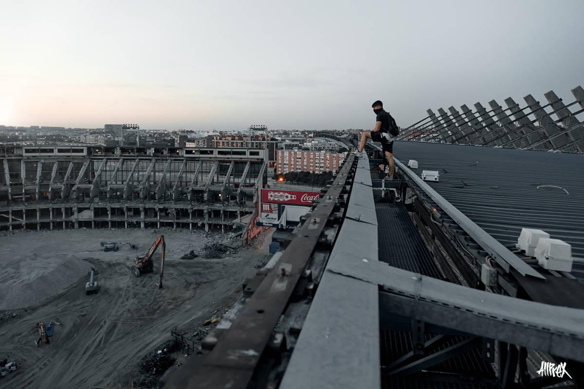 estadio del atlético de Madrid Vicente calderón