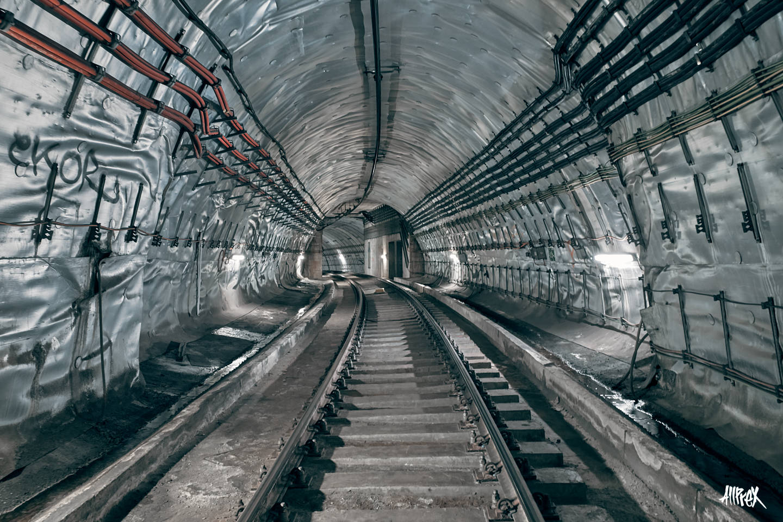 túnel de metro en Barcelona