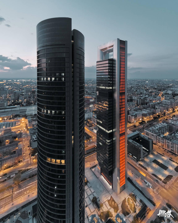 cuatro torres madrid torre pvc y cepsa