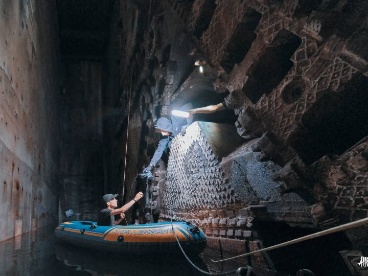 Tuneladora abandonada 'Besi'