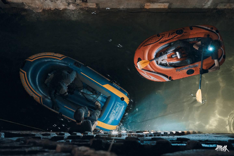 navegando en la tuneladora besi