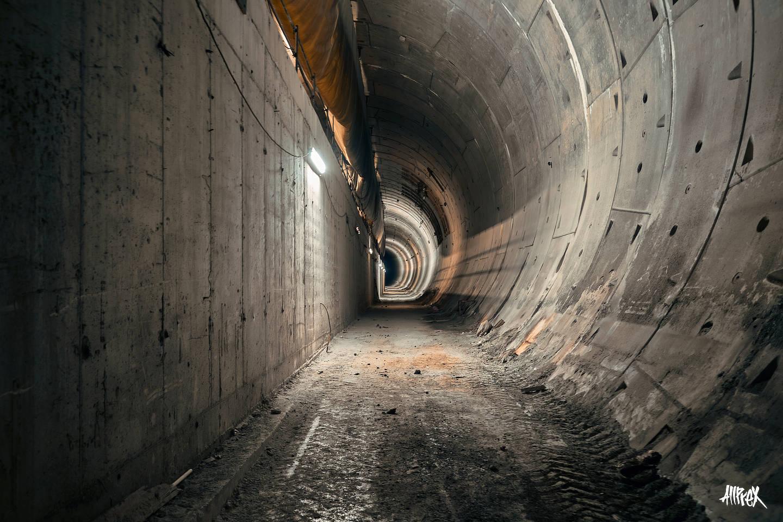 tunel abandonado barcelona