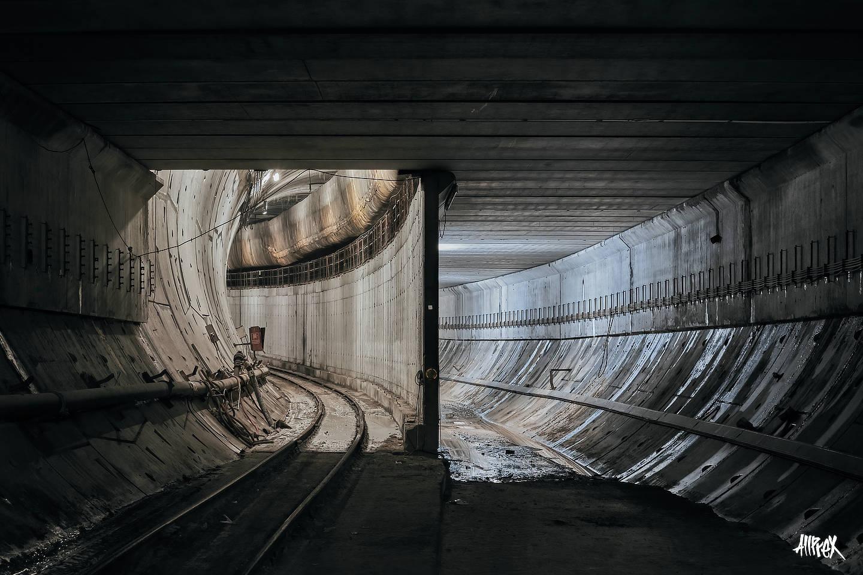 tramo de metro abandonado urbex