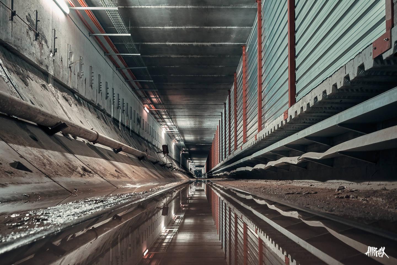 tunel abandonado