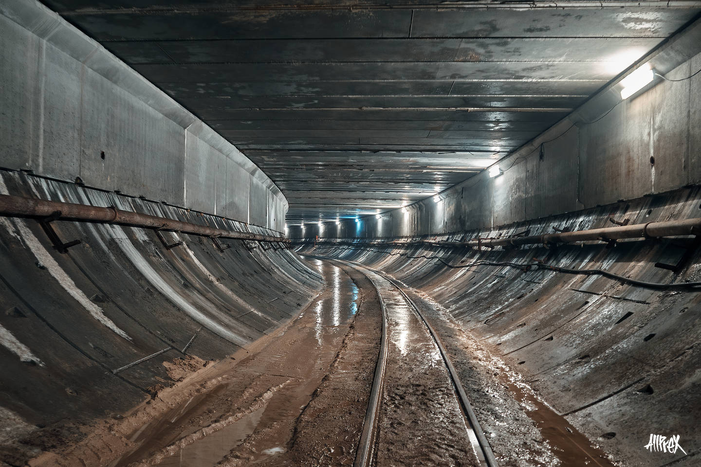 tunel de metro abandonado