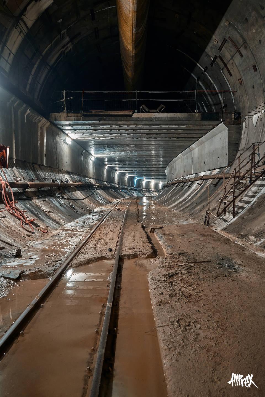 tunel de metro abandonado exploracion urbana