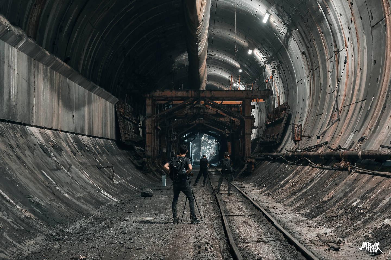 tunel abandonado barcelona urbex