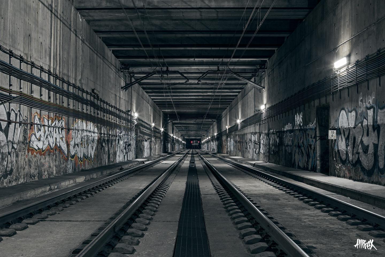 túnel de Renfe en Madrid