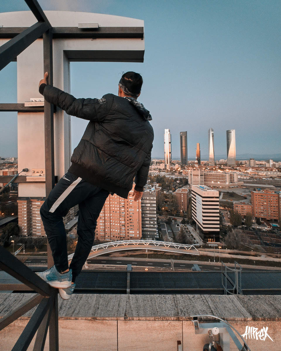 parkour extremo madrid